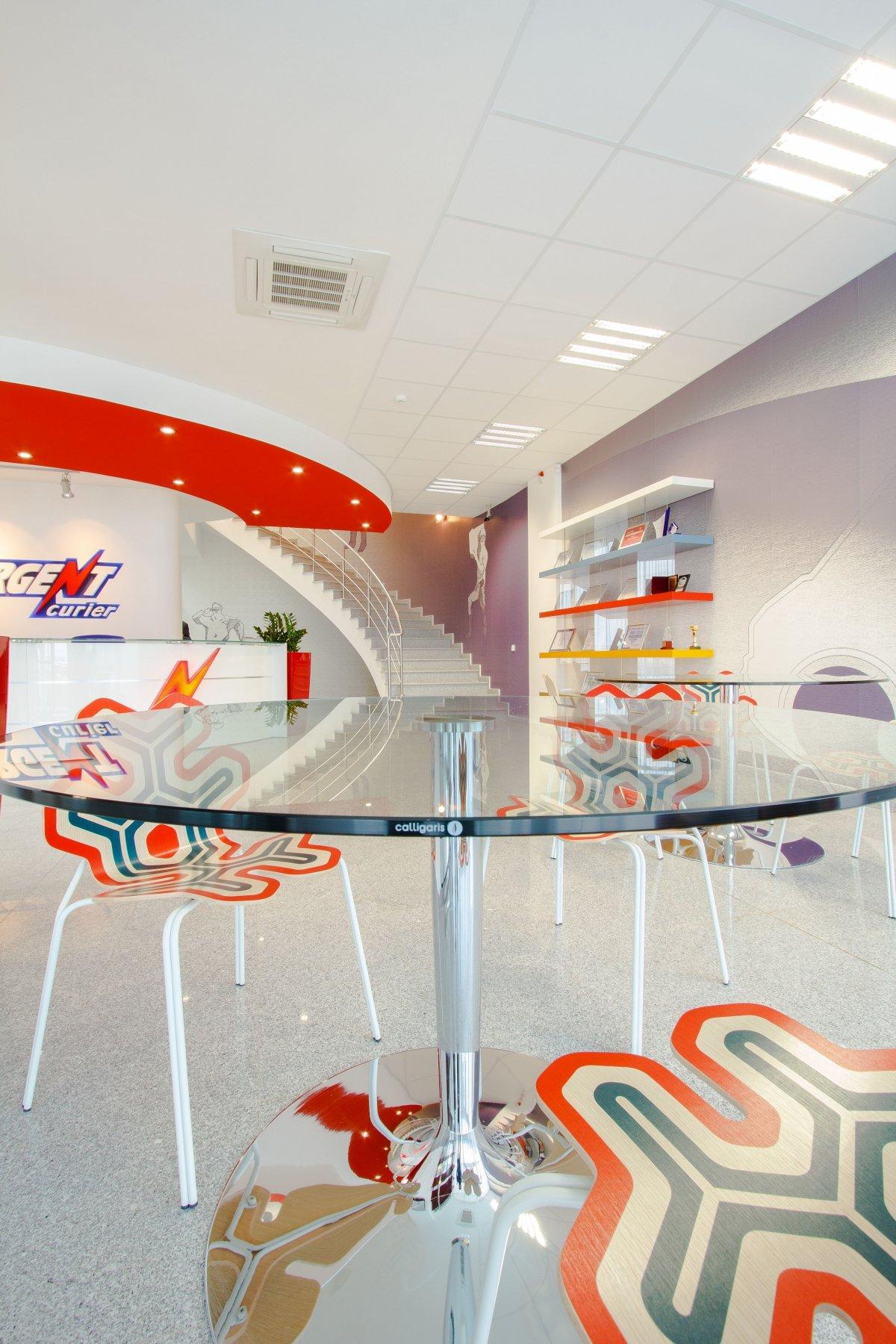 Proiect amenajare sediu firma - Urgent Curier- Receptie si sala de sedinte-6
