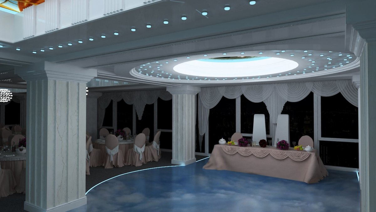 Proiect de amenajare sala de evenimente- Eden-14