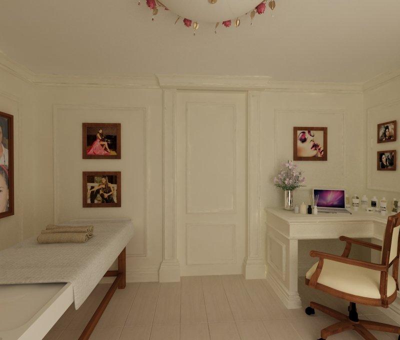 Proiect de design interior - Amenajare salon MakeUp - French Style-10