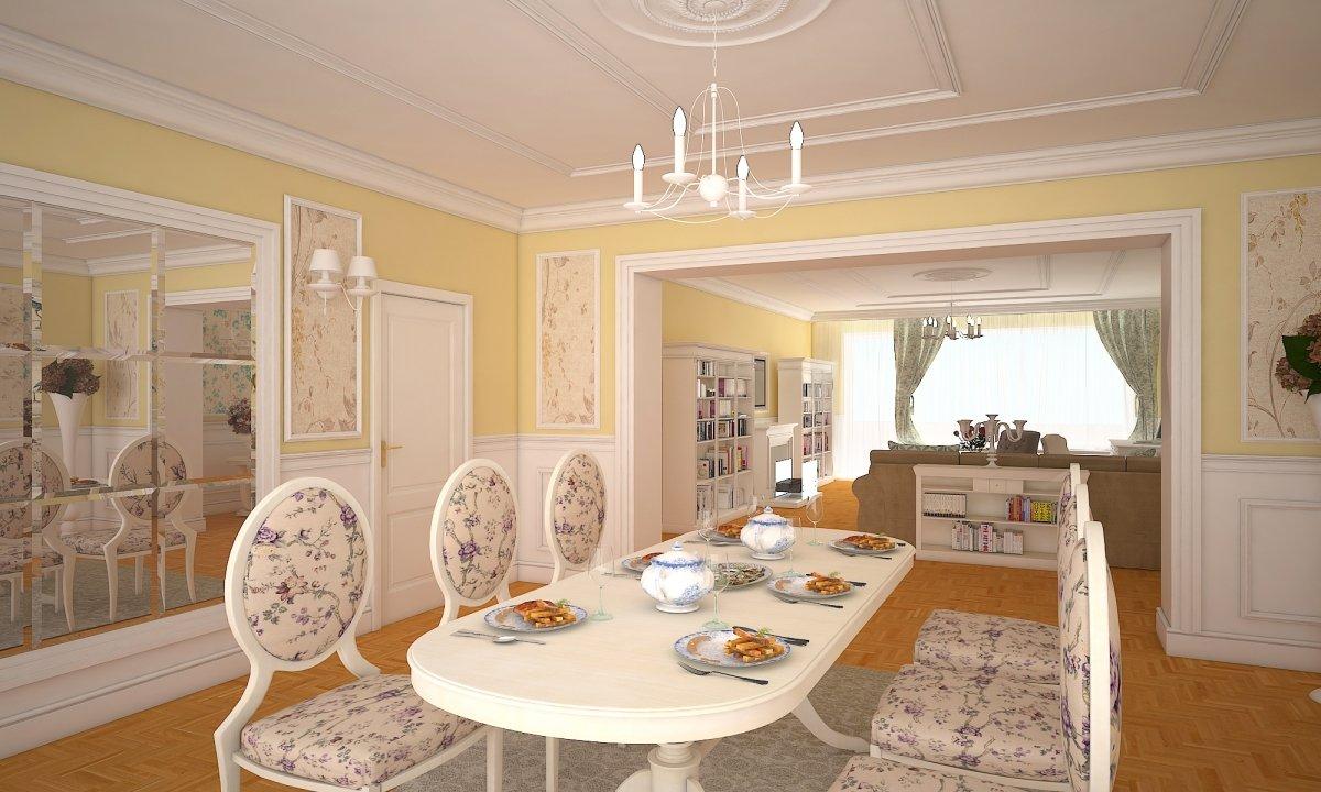 Proiect design interior - Apartament Bucuresti Eminescu-3