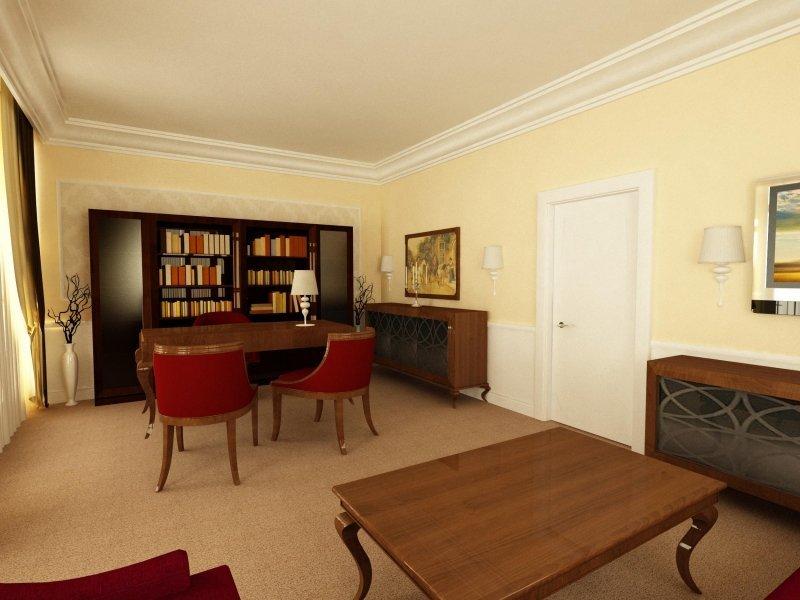 Proiect design interior- Birou 'Business Woman'-3