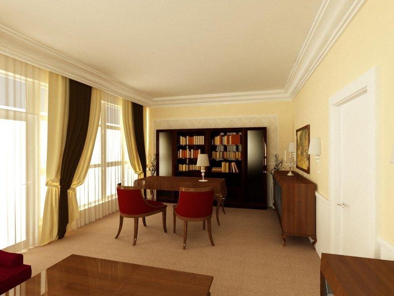 Proiect design interior- Birou 'Business Woman'-4