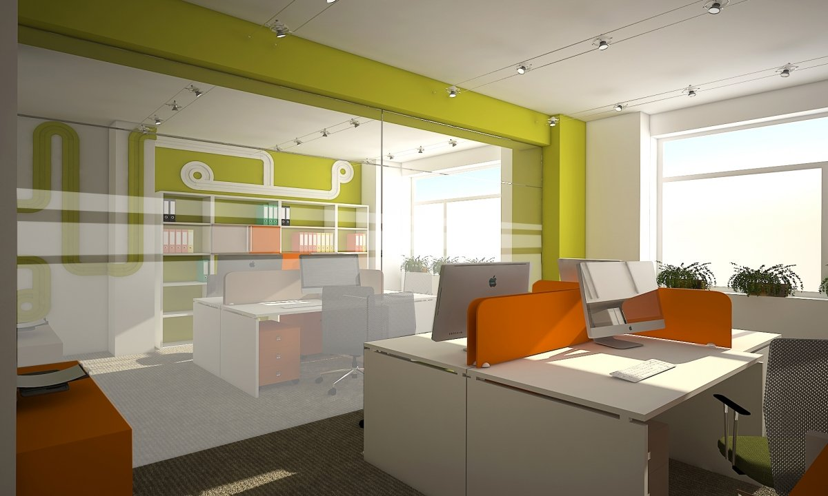 Sediu de firma Eldomir- design interior birouri in Braila-1