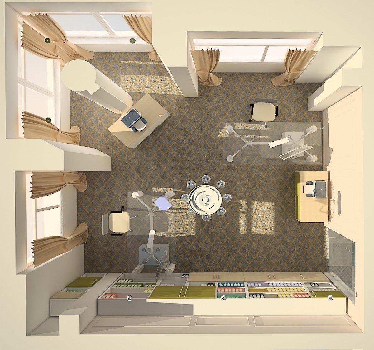 Sediu de firma Eldomir- design interior birouri in Braila-13
