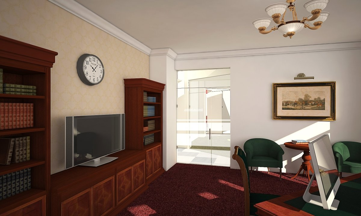 Sediu de firma Eldomir- design interior birouri in Braila-14