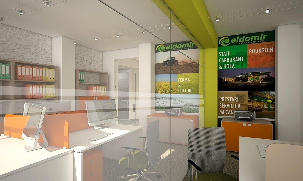 Sediu de firma Eldomir- design interior birouri in Braila-2