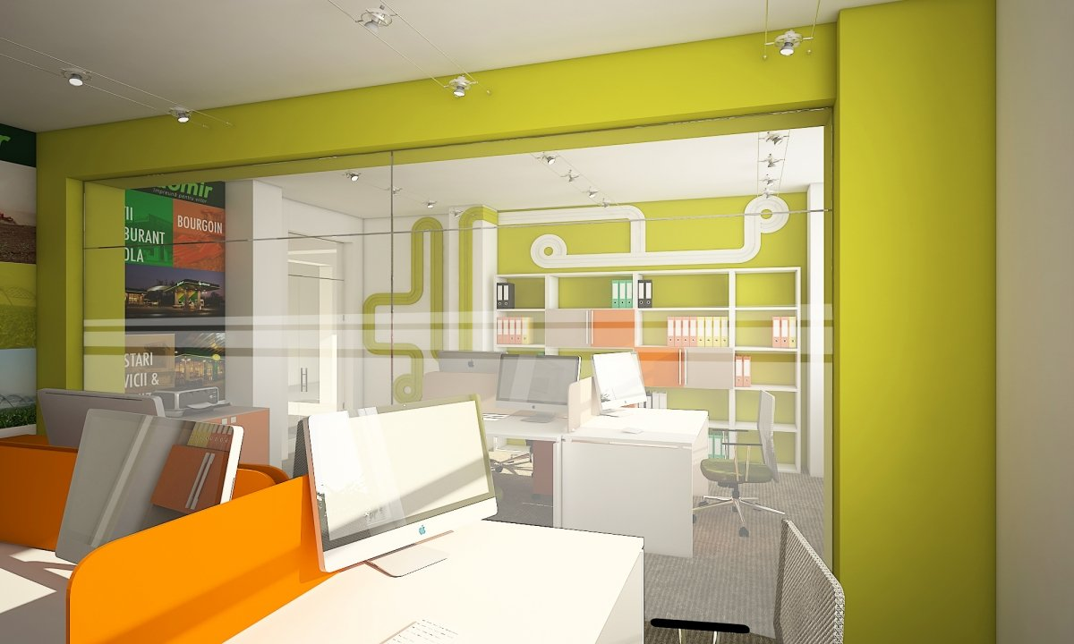 Sediu de firma Eldomir- design interior birouri in Braila-3