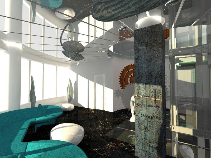 Sediul Da Vinci Building - proiect de amenajare interioara-4