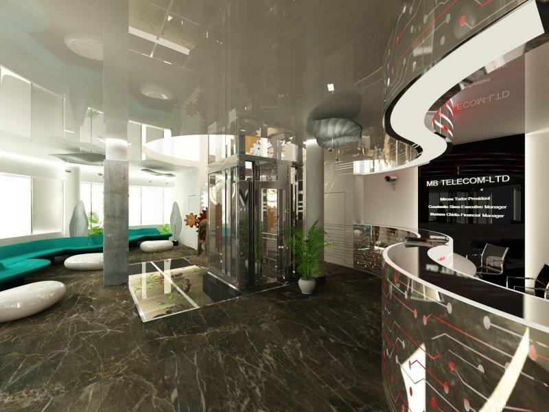 Sediul Da Vinci Building - proiect de amenajare interioara-6