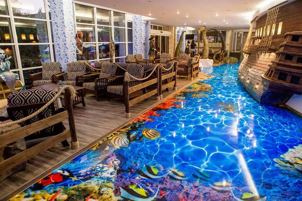amenajare horeca design interior hotel bicaz pirates resort proiect amenajare constanta studio insign