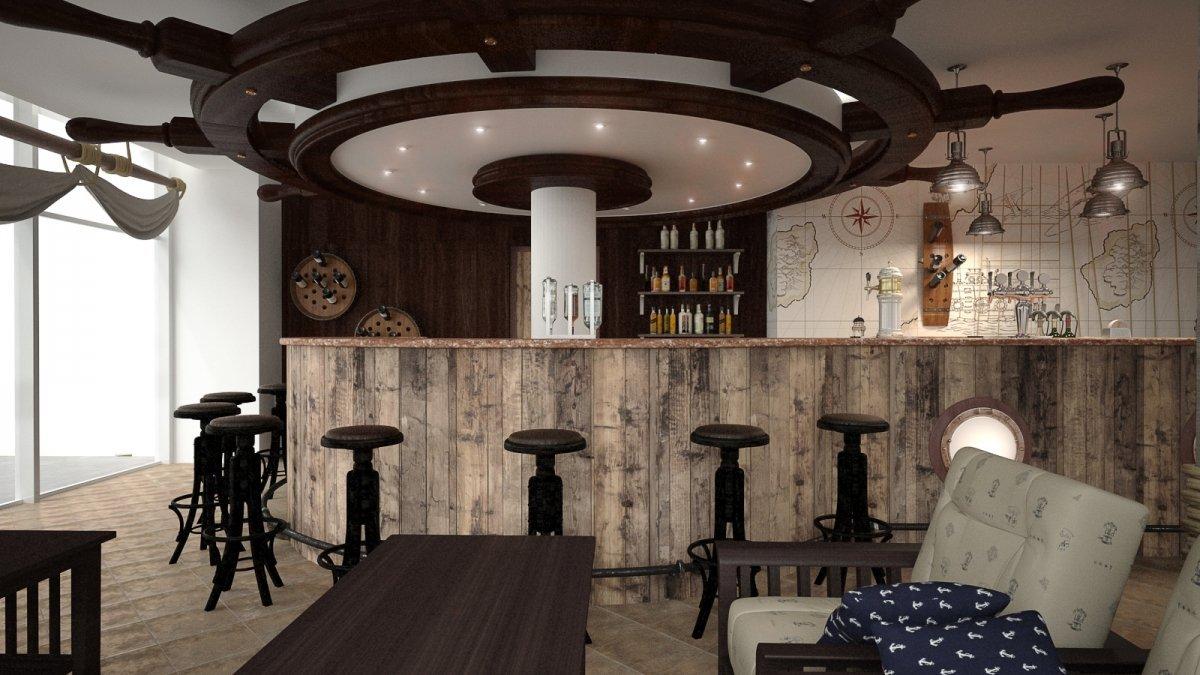 Proiect amenajare bar Constanta-11