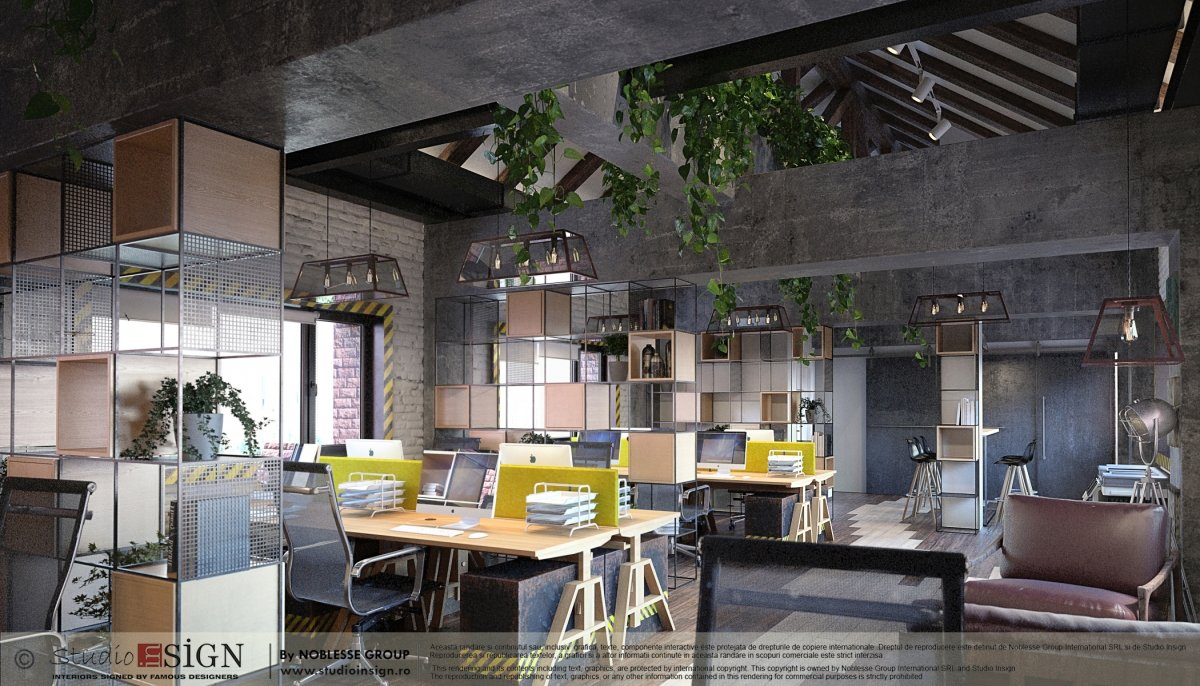 Proiect birouri industriale Factory-1