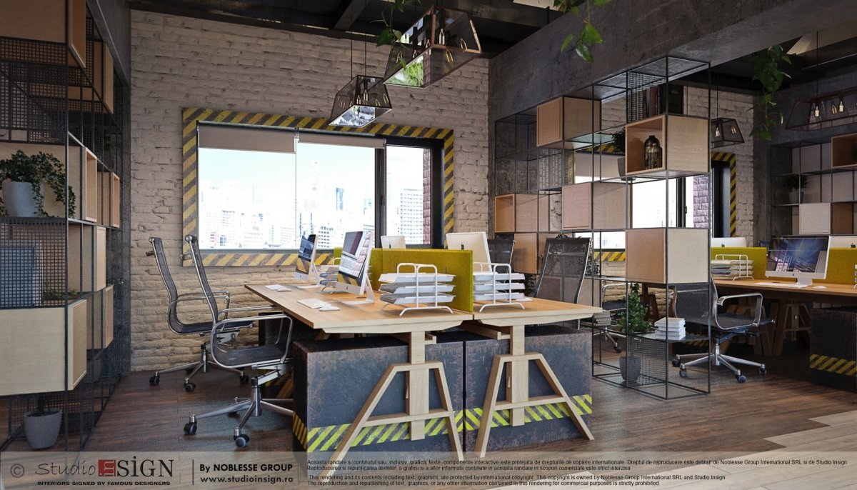 Proiect birouri industriale Factory-2