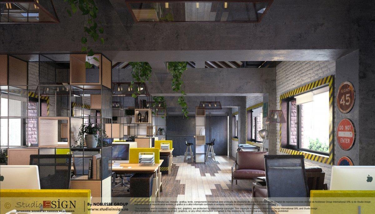 Proiect birouri industriale Factory-3