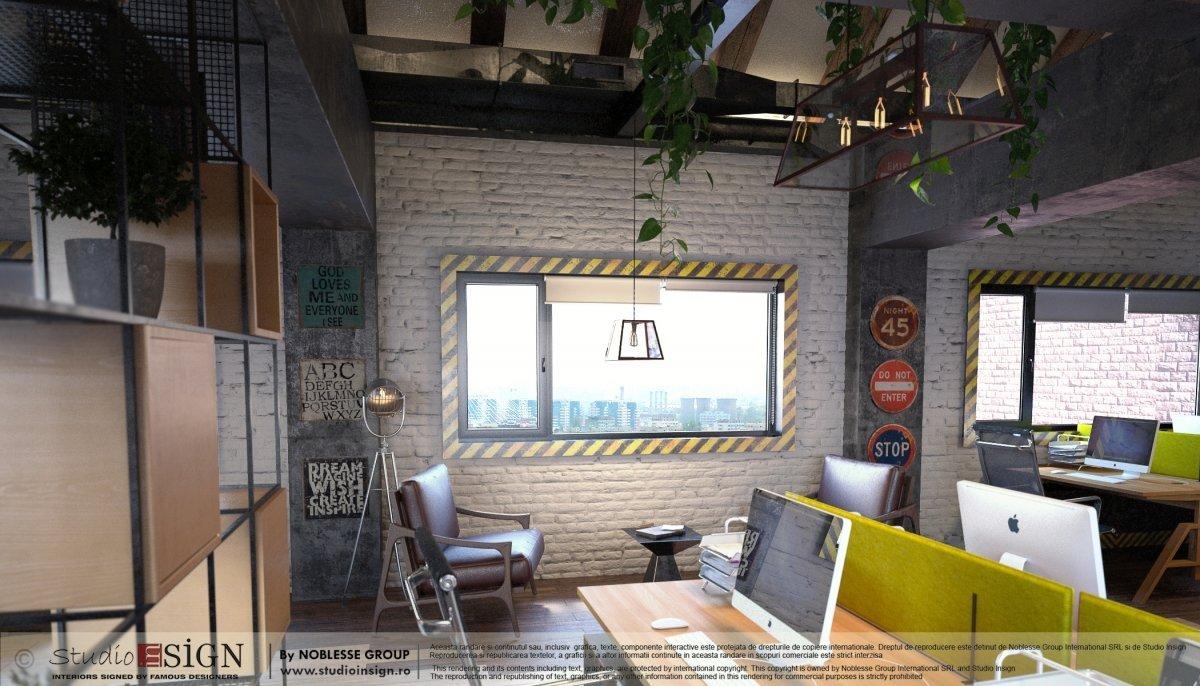Proiect birouri industriale Factory-4