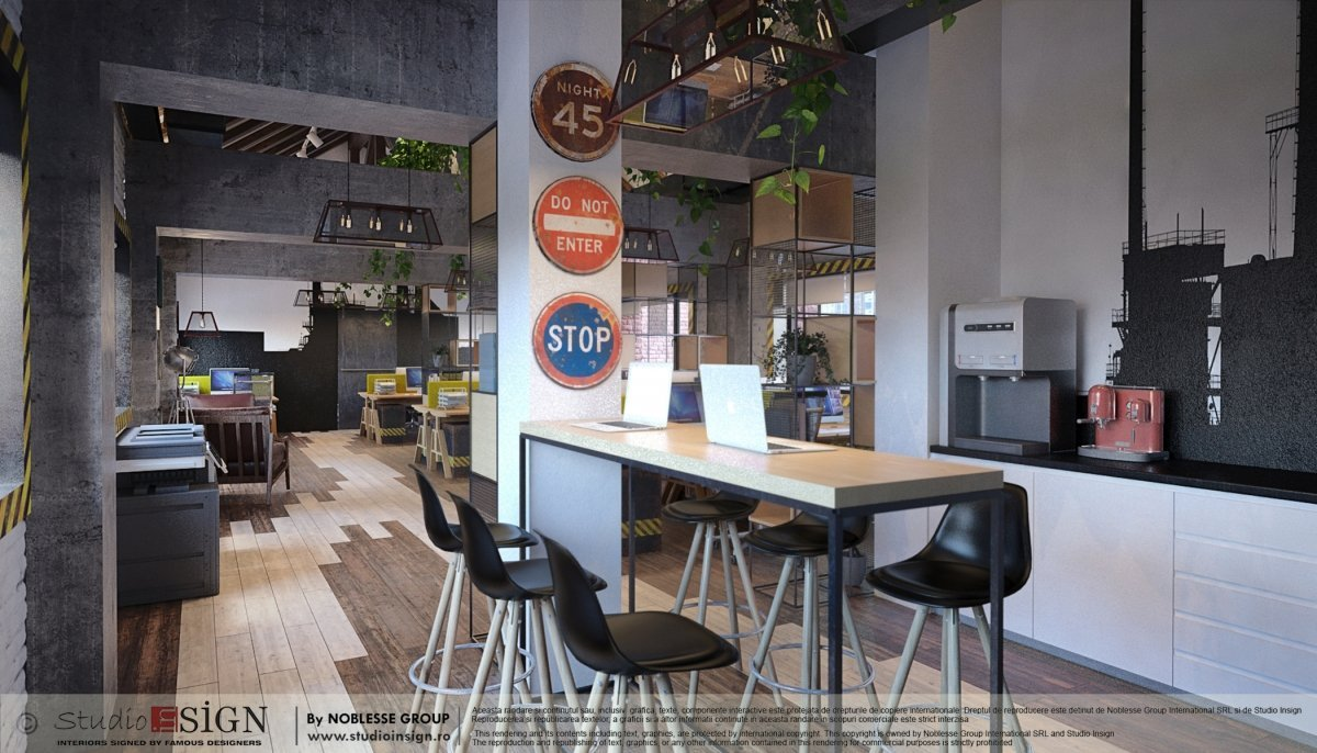 Proiect birouri industriale Factory-7