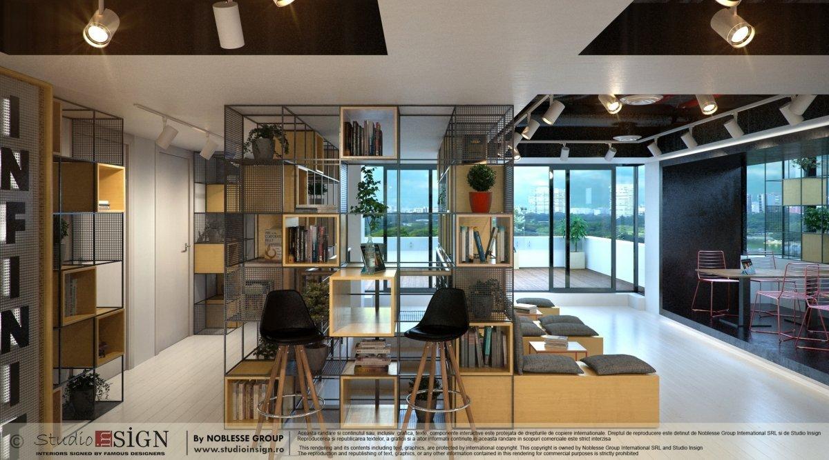 Proiect design interior bar & lounge Infinit Bucuresti-2
