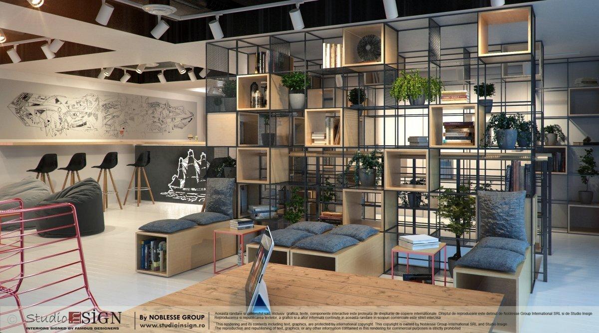 Proiect design interior bar & lounge Infinit Bucuresti-4