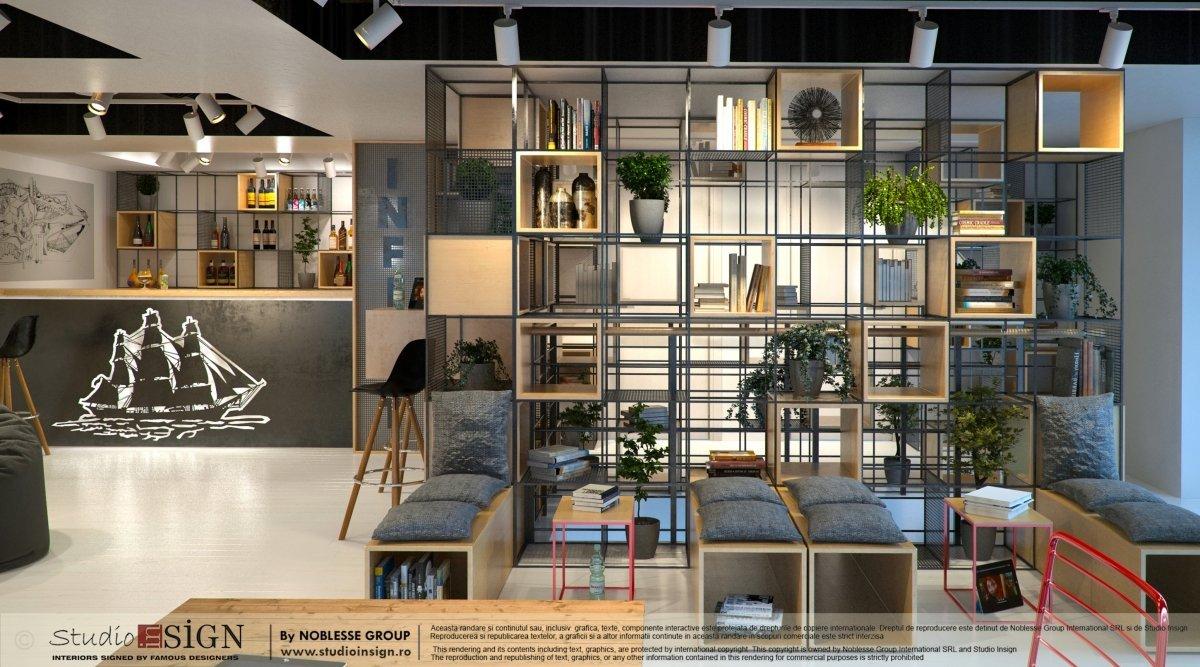 Proiect design interior bar & lounge Infinit Bucuresti-5