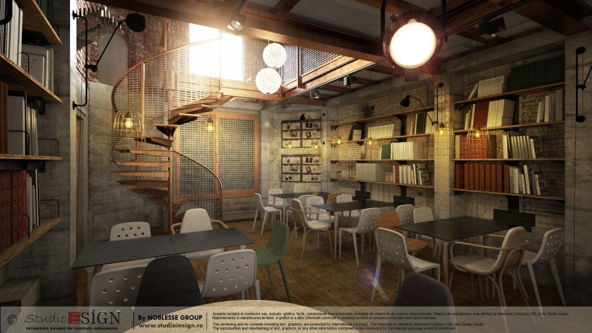 Proiect finalizat Biblioteka Hub, Palatul Noblesse Bucurest-1