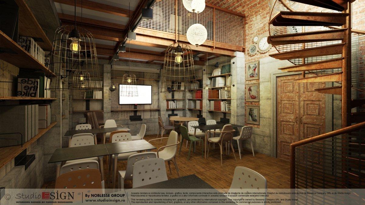 Proiect finalizat Biblioteka Hub, Palatul Noblesse Bucurest-4