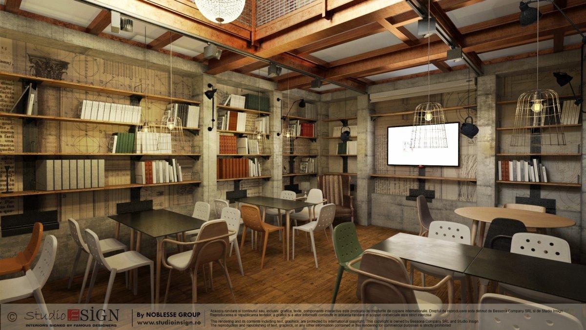 Proiect finalizat Biblioteka Hub, Palatul Noblesse Bucurest-5