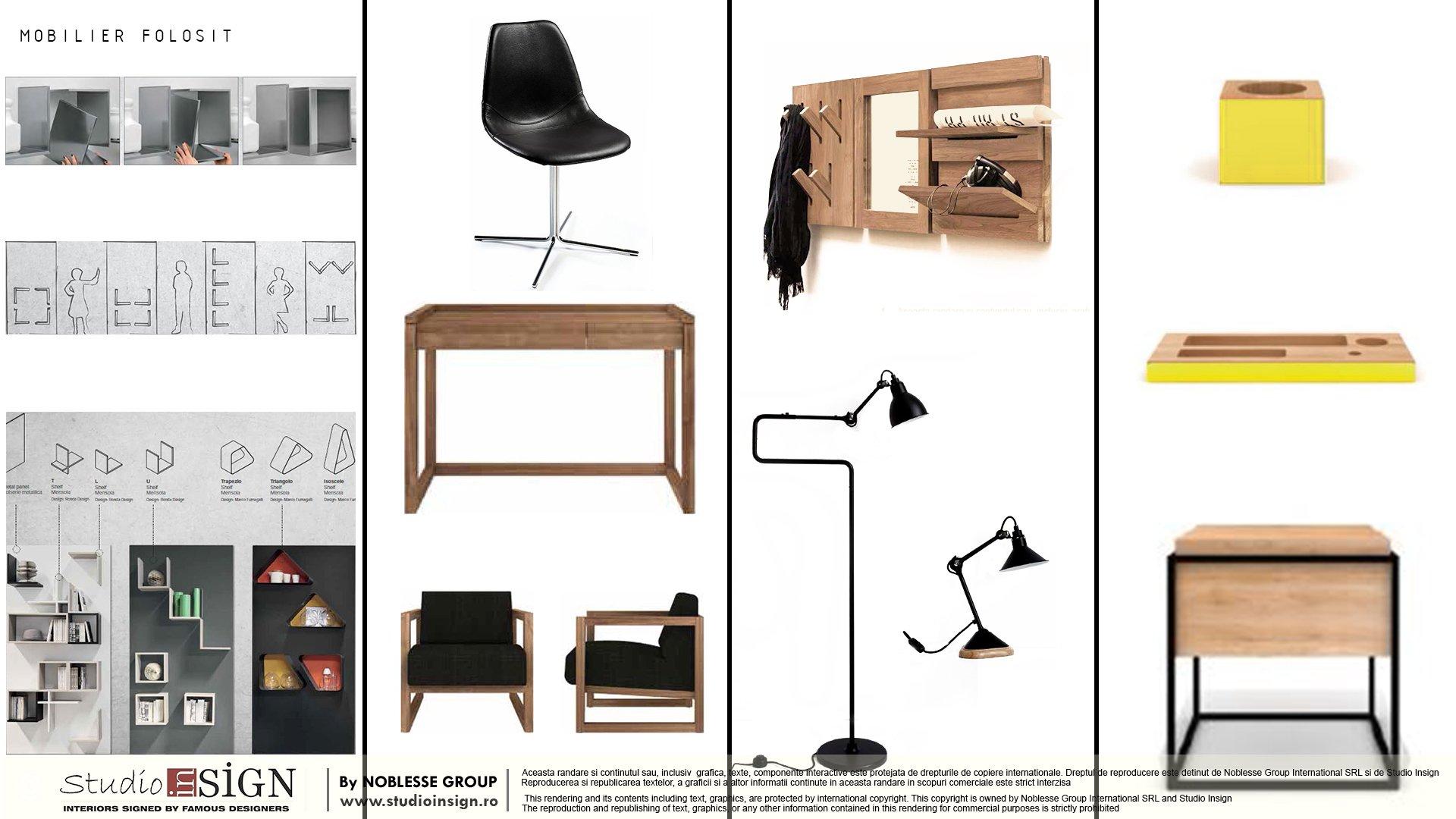 mobilier mood board