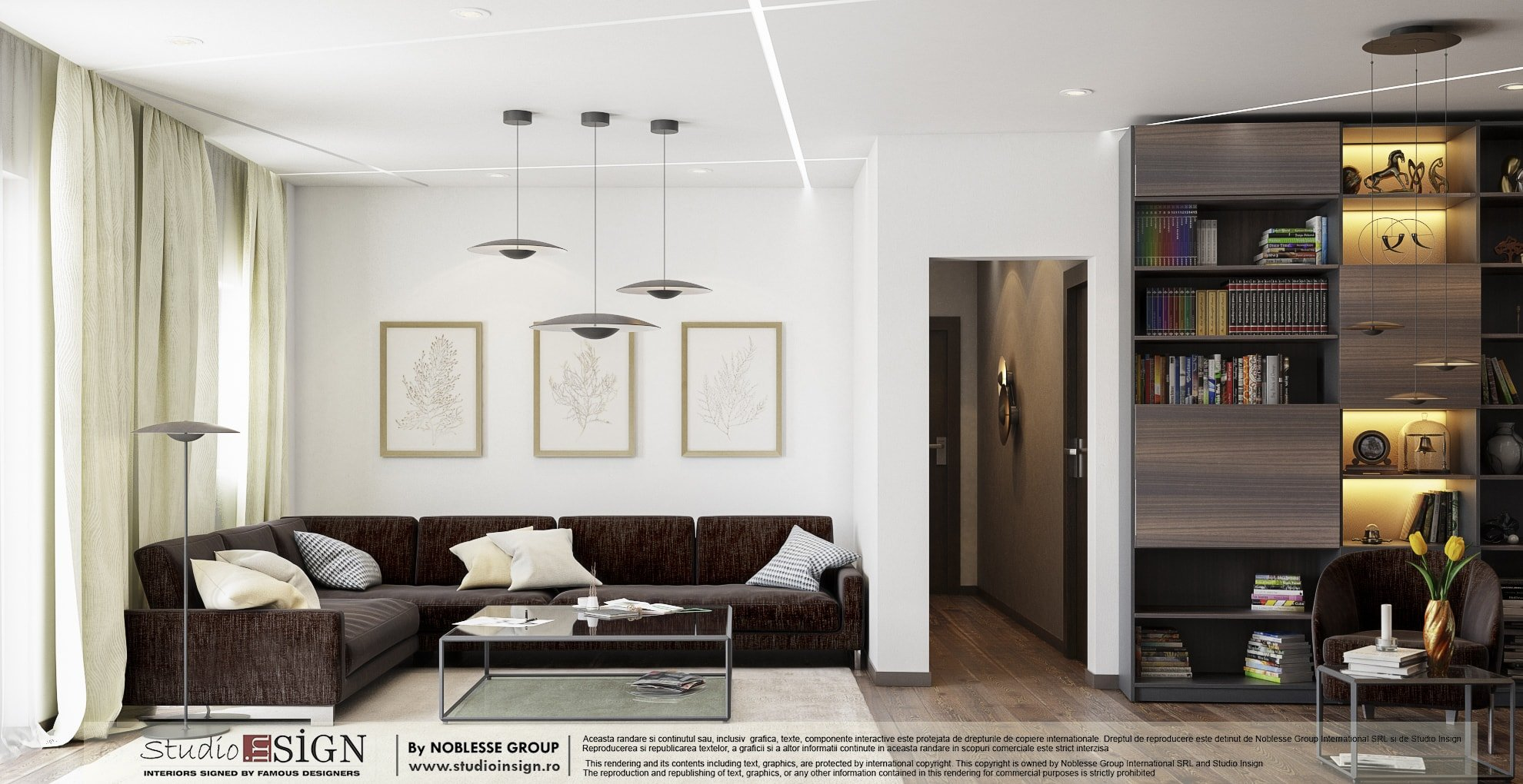 APARTMENT REFLEXIONS - MODERN INTERIOR DESIGN - Studio inSIGN