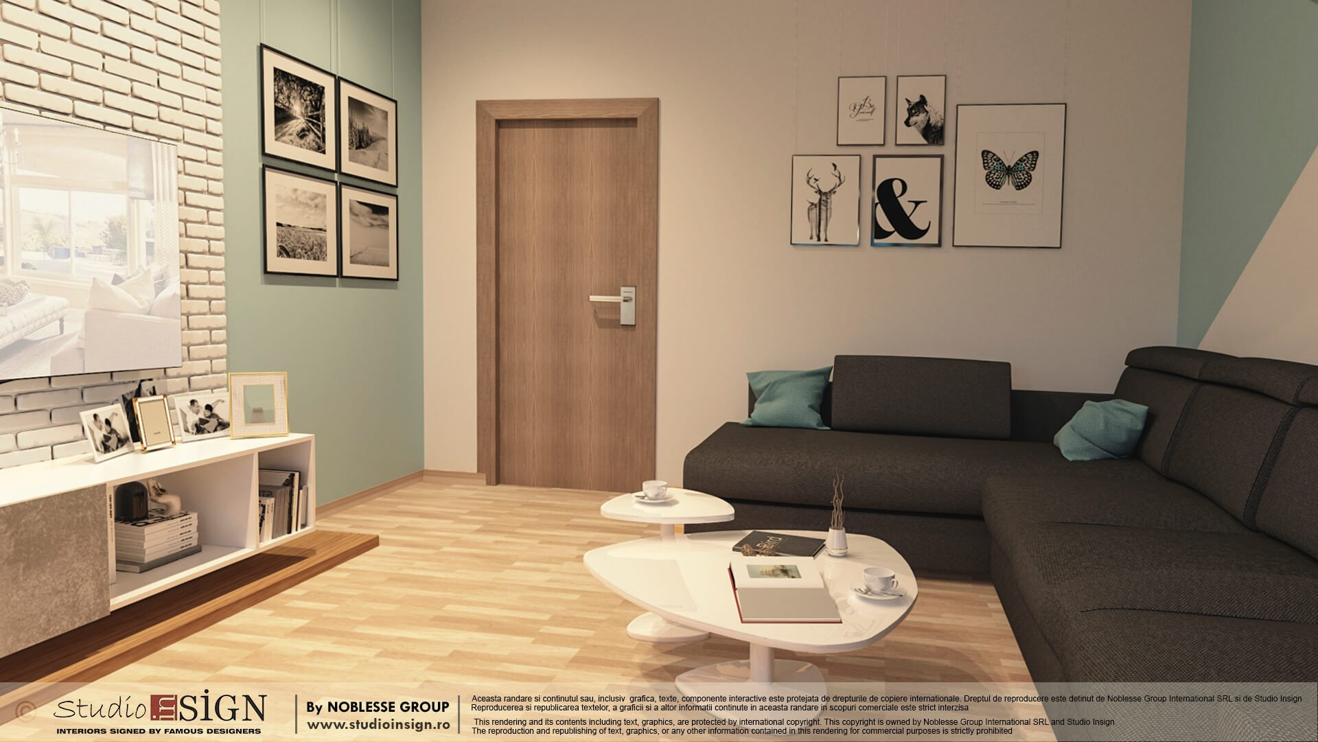 Apartament Bucuresti Design Interior In Stil Modern Studio Insign