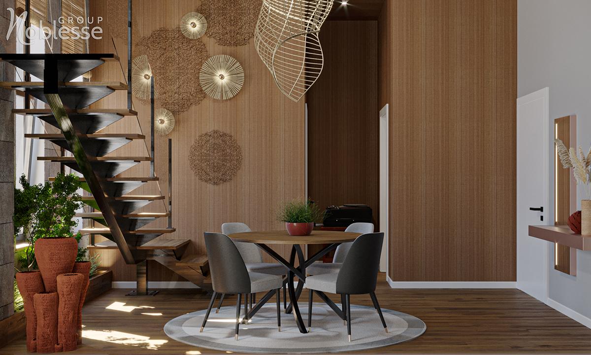 Amenajare Penthouse Stil Luxury