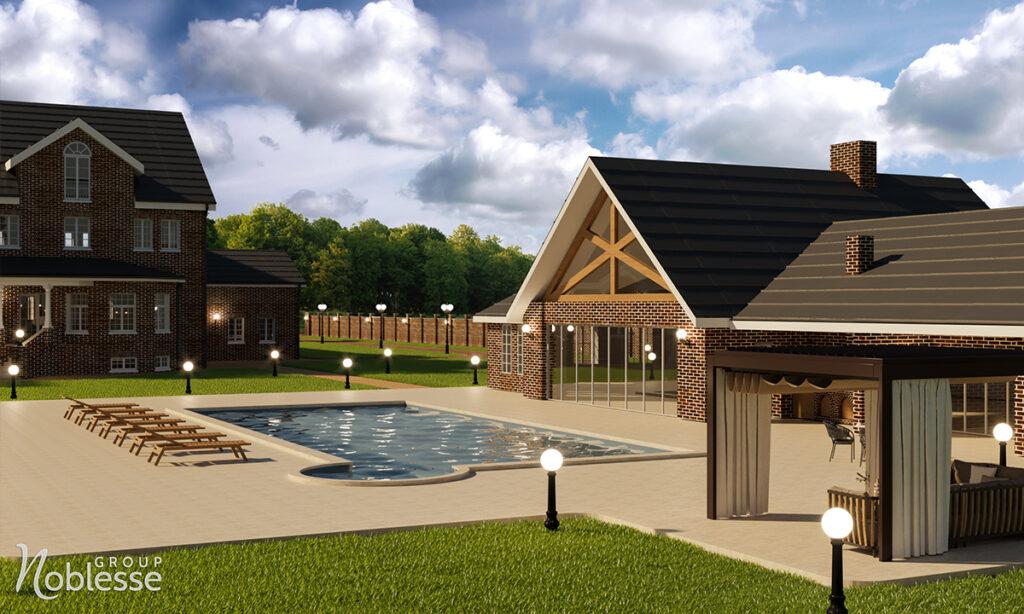 amenajare casa cu piscina