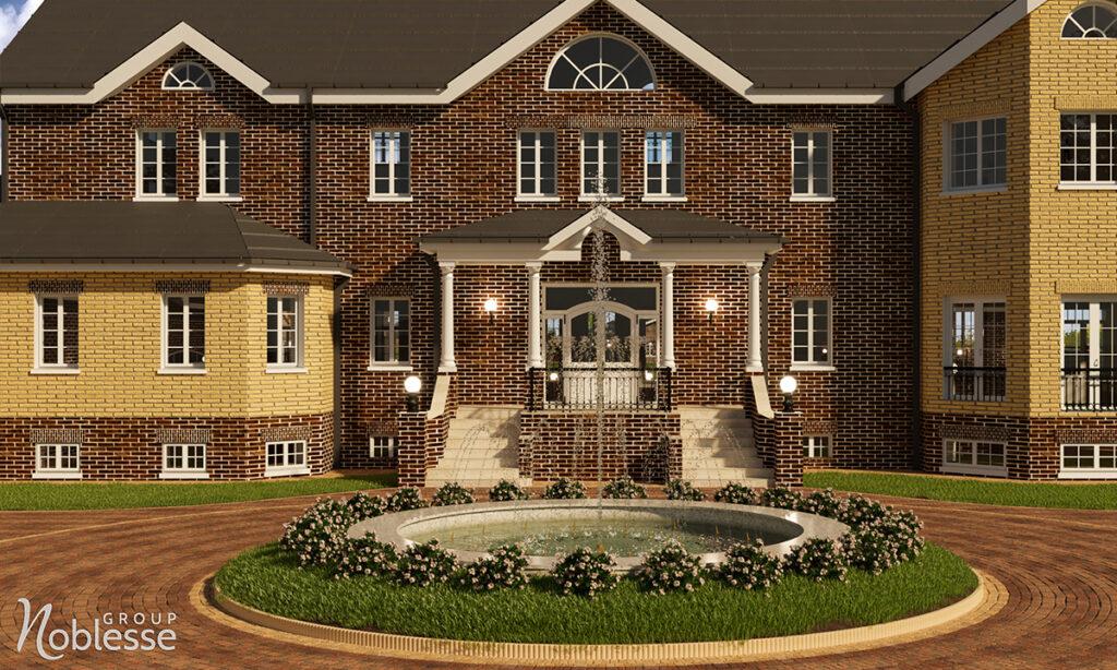 design exterior casa si curte