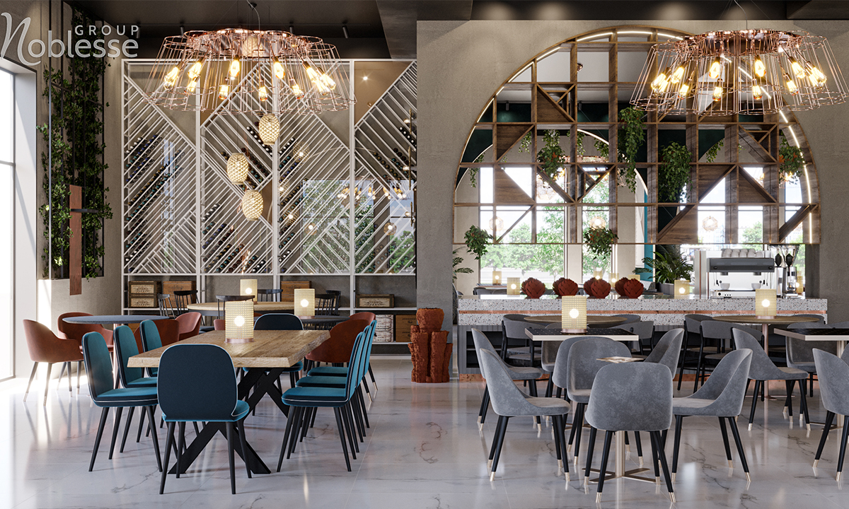 amenajare restaurant modern