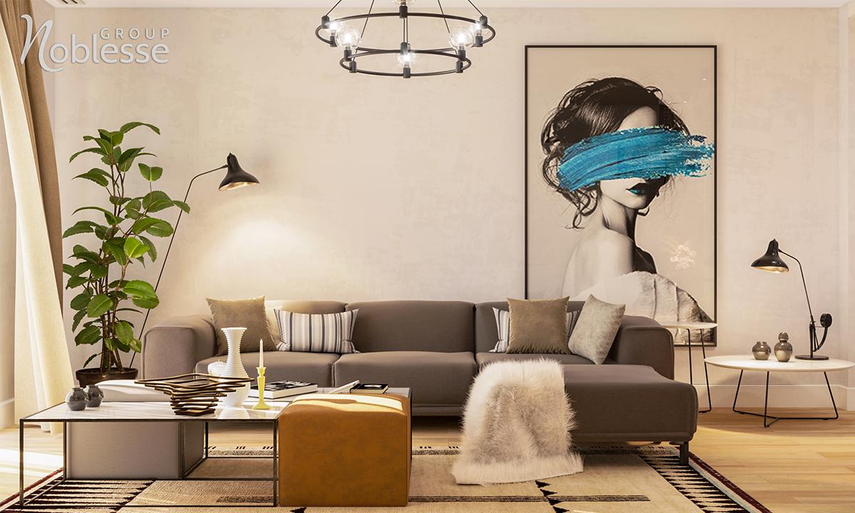design interior apartament 4 camere